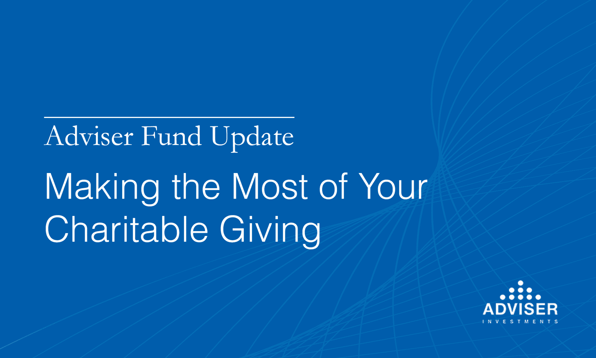 Charitable giving and tax strategy go hand-in-hand. This special report tells you how to make the most of your charitable giving.