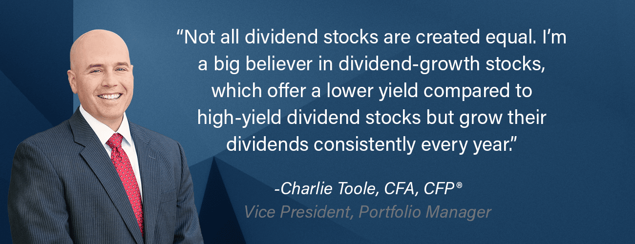 Charlie Toole, CFA, CFP, is Vice President, Portfolio Manager at Adviser Investments.