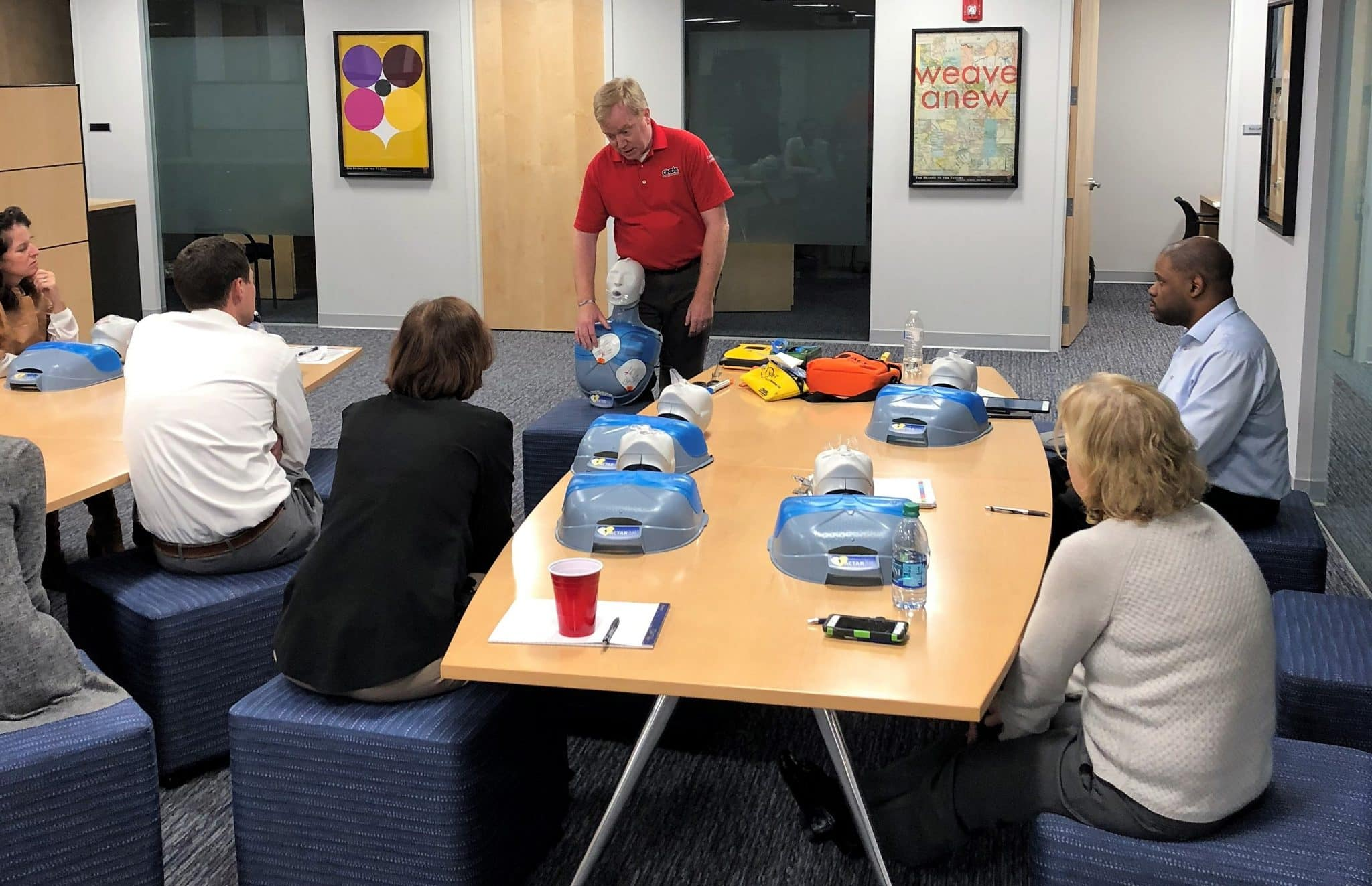 Safety First Adviser Investments Offers First Aid Cpr And Aed